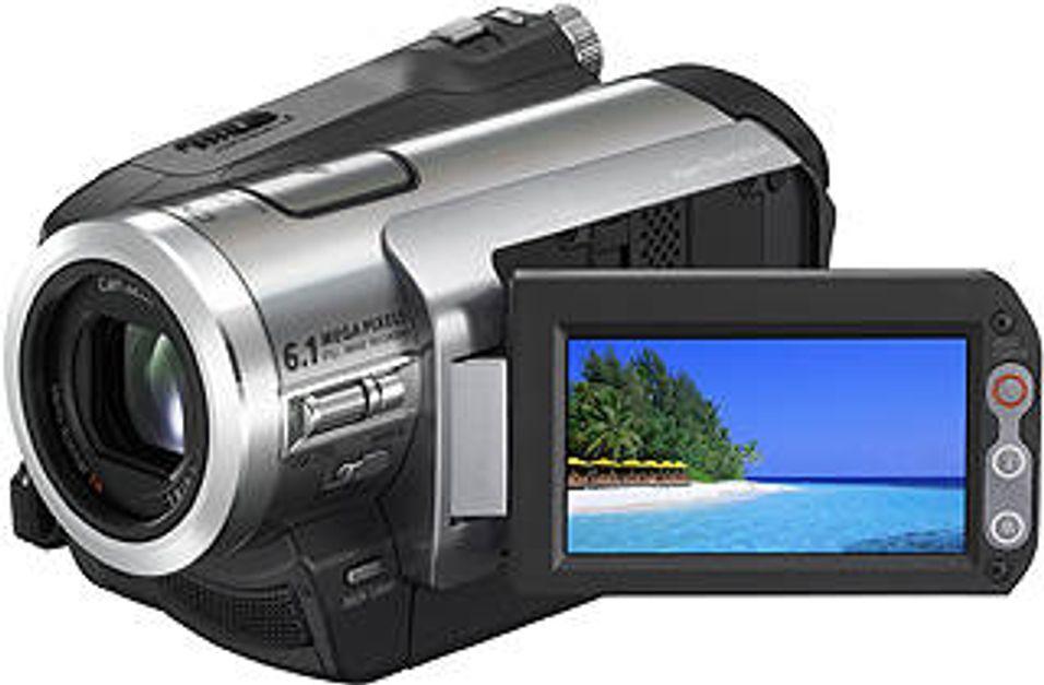 HD-videokamera med harddisk