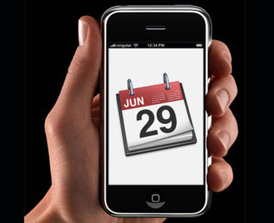 iPhone kommer 29. juni
