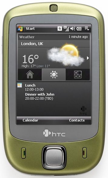 HTC med fingerstyrte 3D-menyer