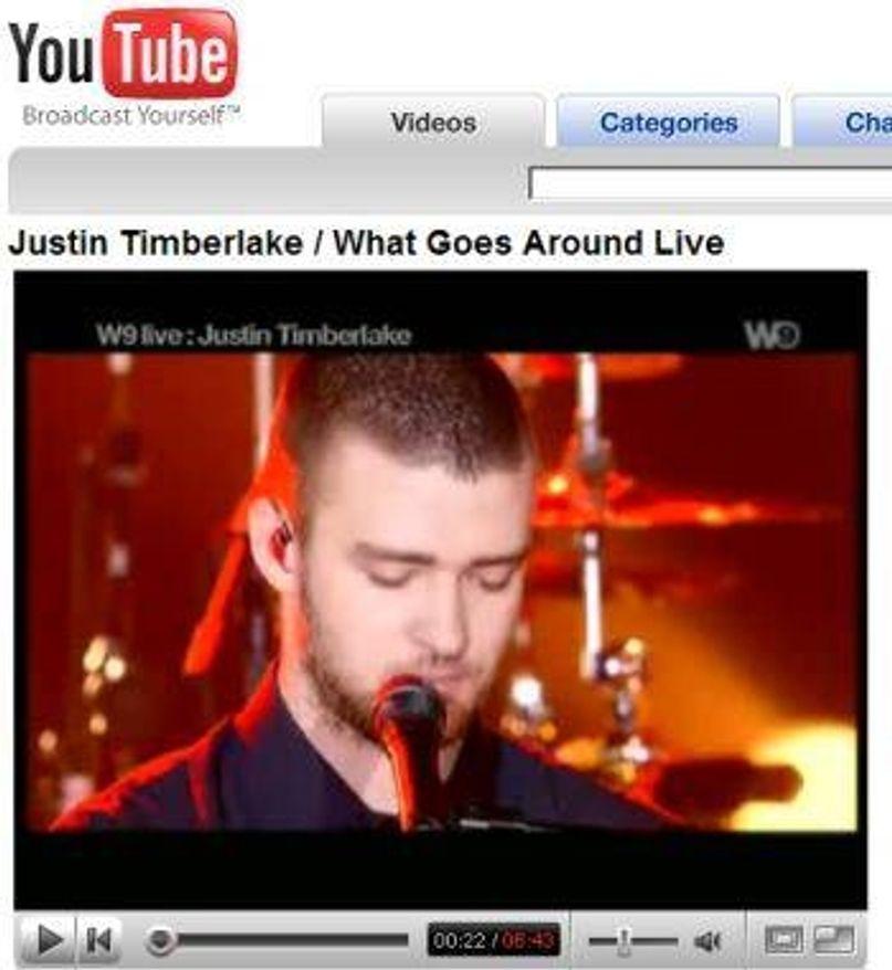 Timberlake inspirert av YouTube