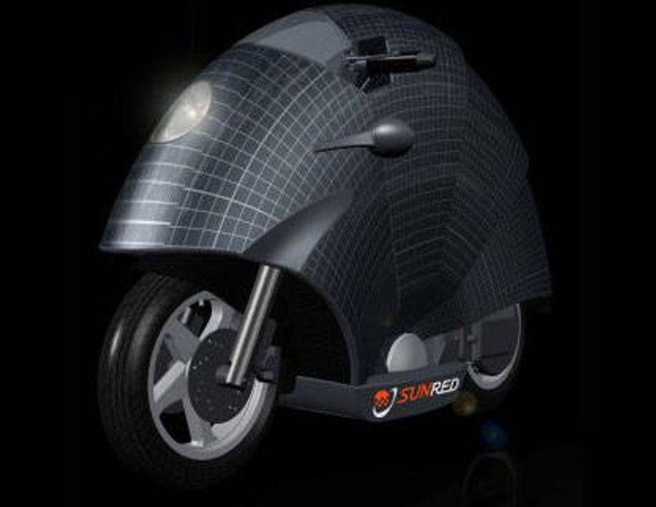 Soldrevet motorsykkel