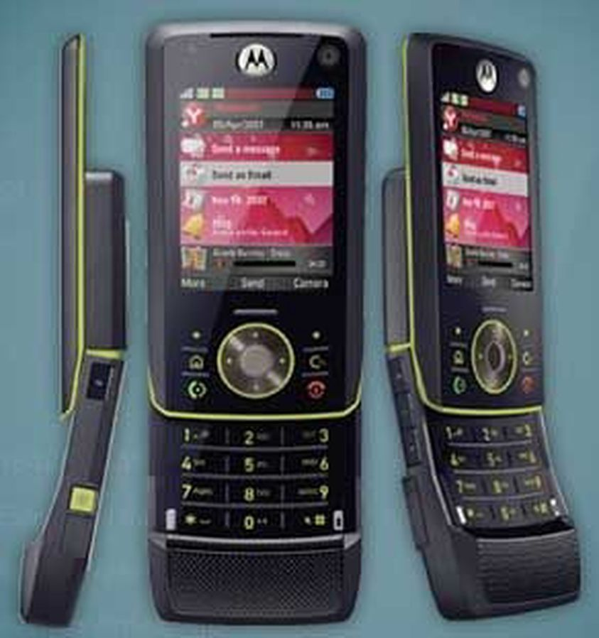 Motorola Z8 klar 1. august