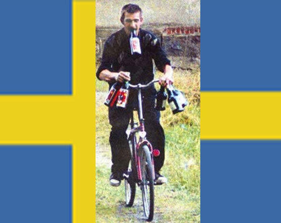 Svenskene kjører på smuglersprit