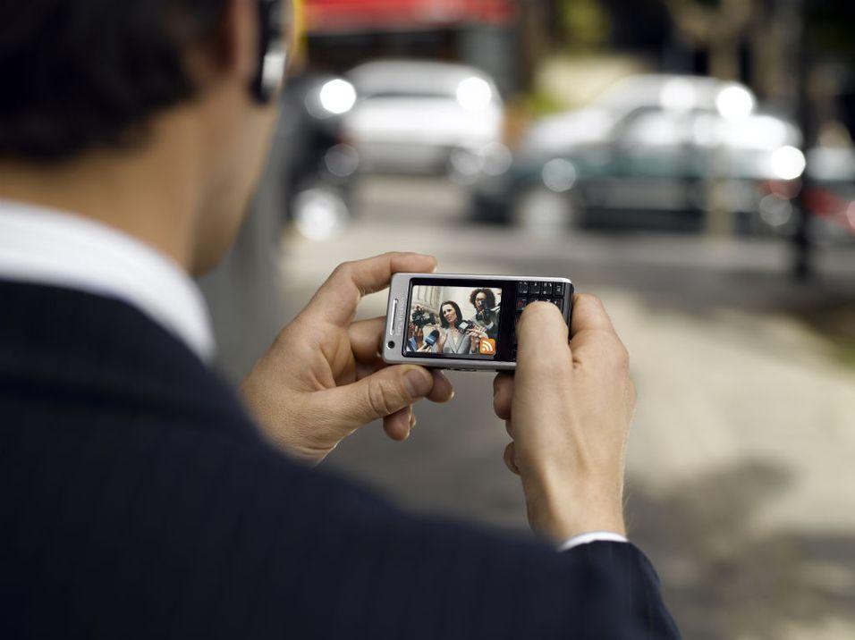 Sony Ericsson P1i med GPS i salg