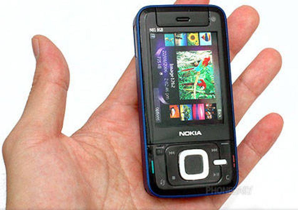 Se bilder av Nokia N81