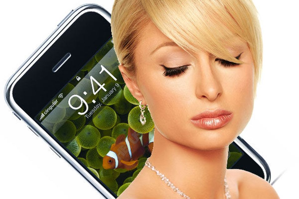 - Iphone er mobilenes Paris Hilton