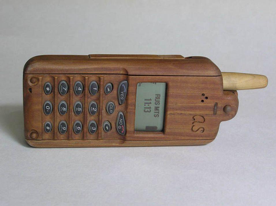 En skikkelig trestubbe av en mobil