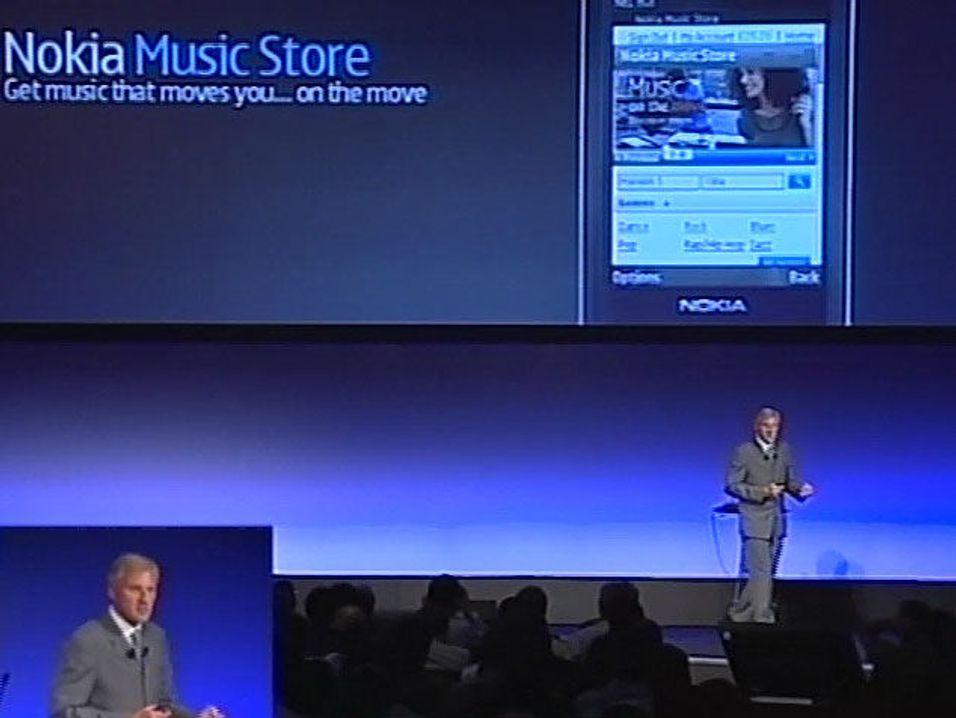 Nokia lanserte Music Store
