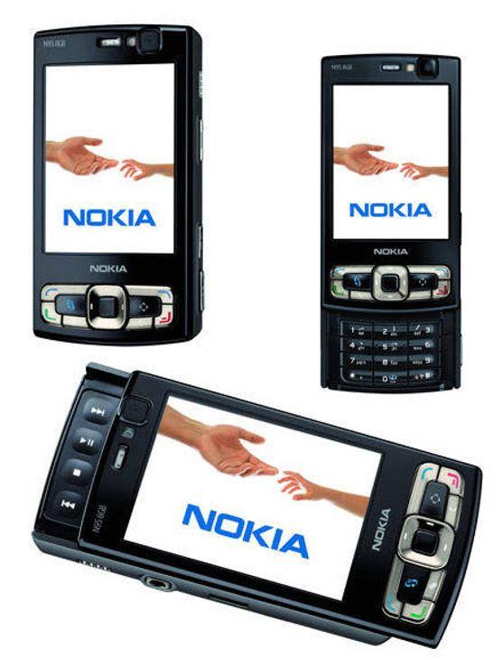 Oppfrisket N95 med 8GB og mye mer