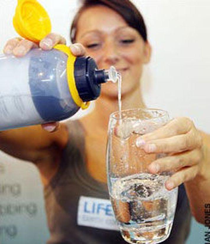 Denne flasken kan redde liv