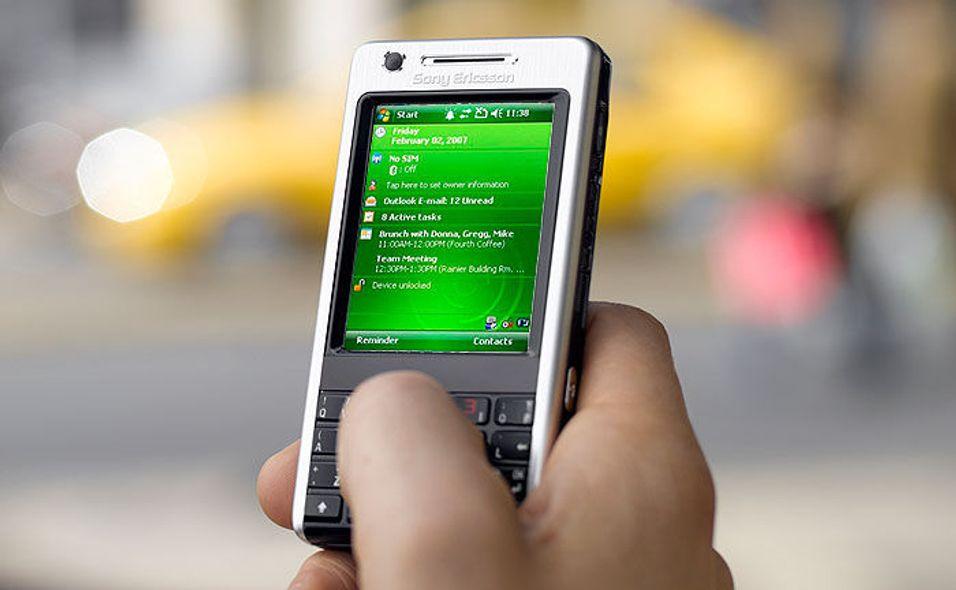 Sony Ericsson med Windows-mobil