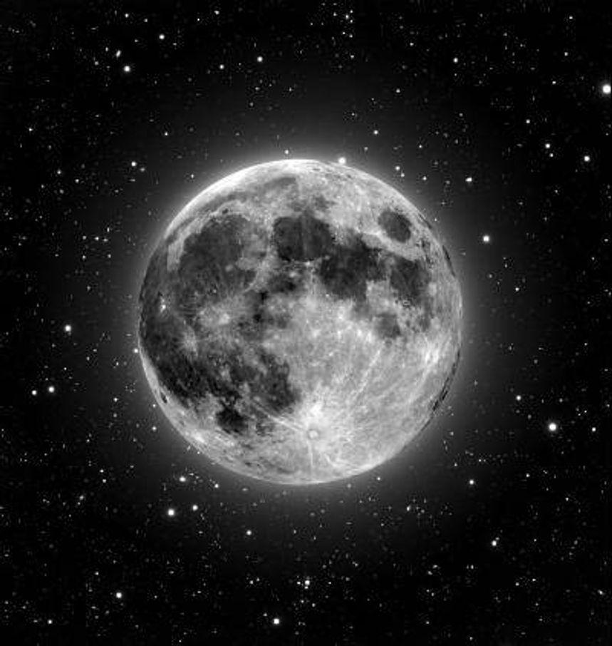 Mobilsamtale fra månen