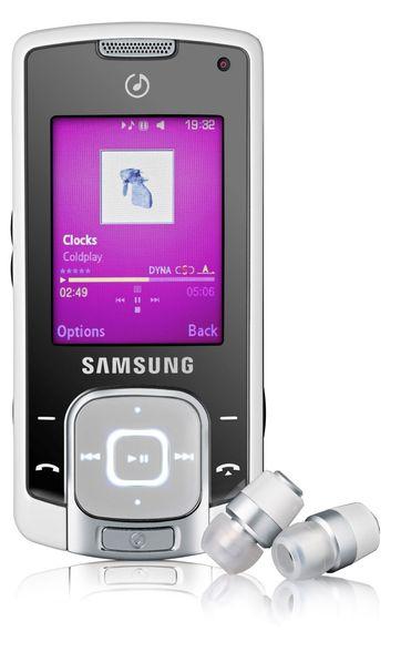 Samsung med musikalsk trio
