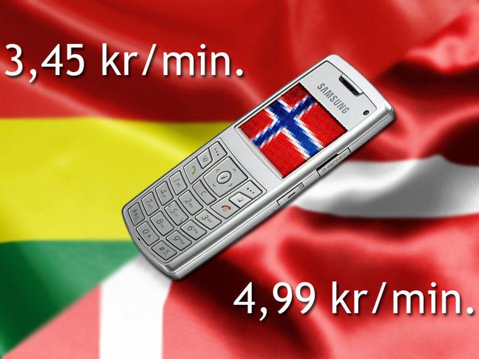 Billigere å ringe fra Ghana enn Danmark