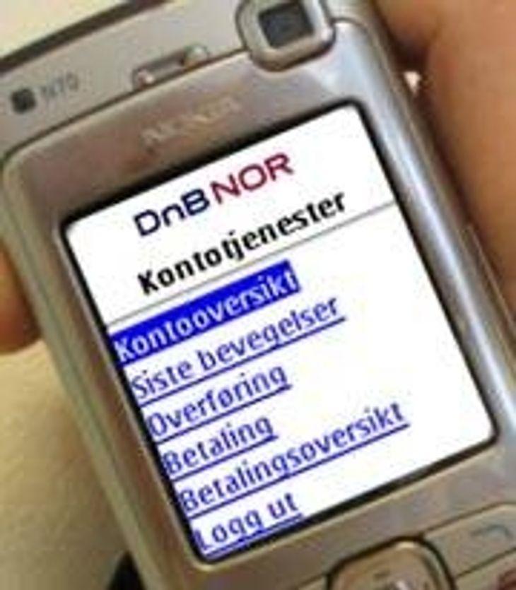 Styr bankkontoen med SMS