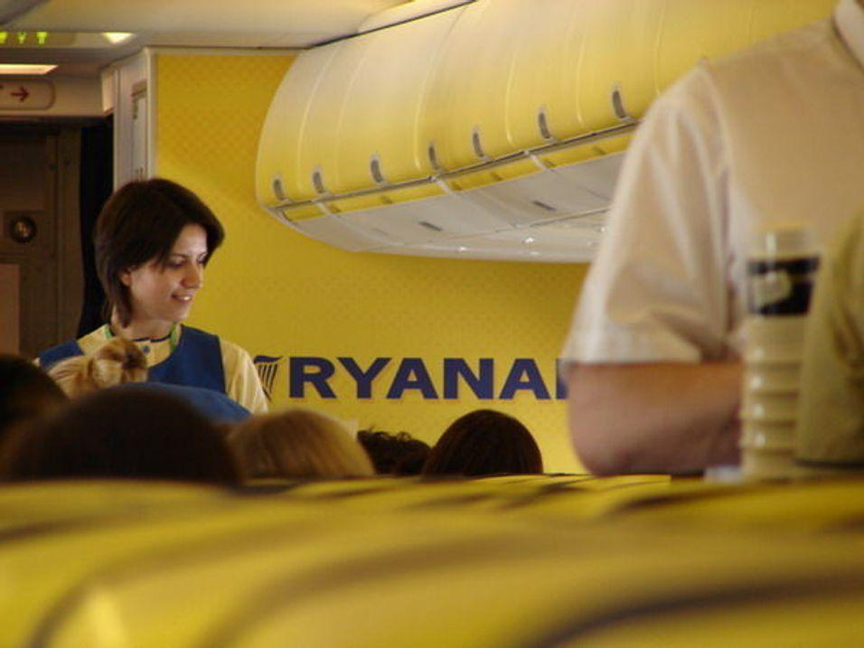 Ryanair sier ja til mobil