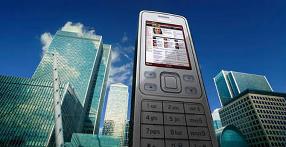 Folkets mobile nettleser