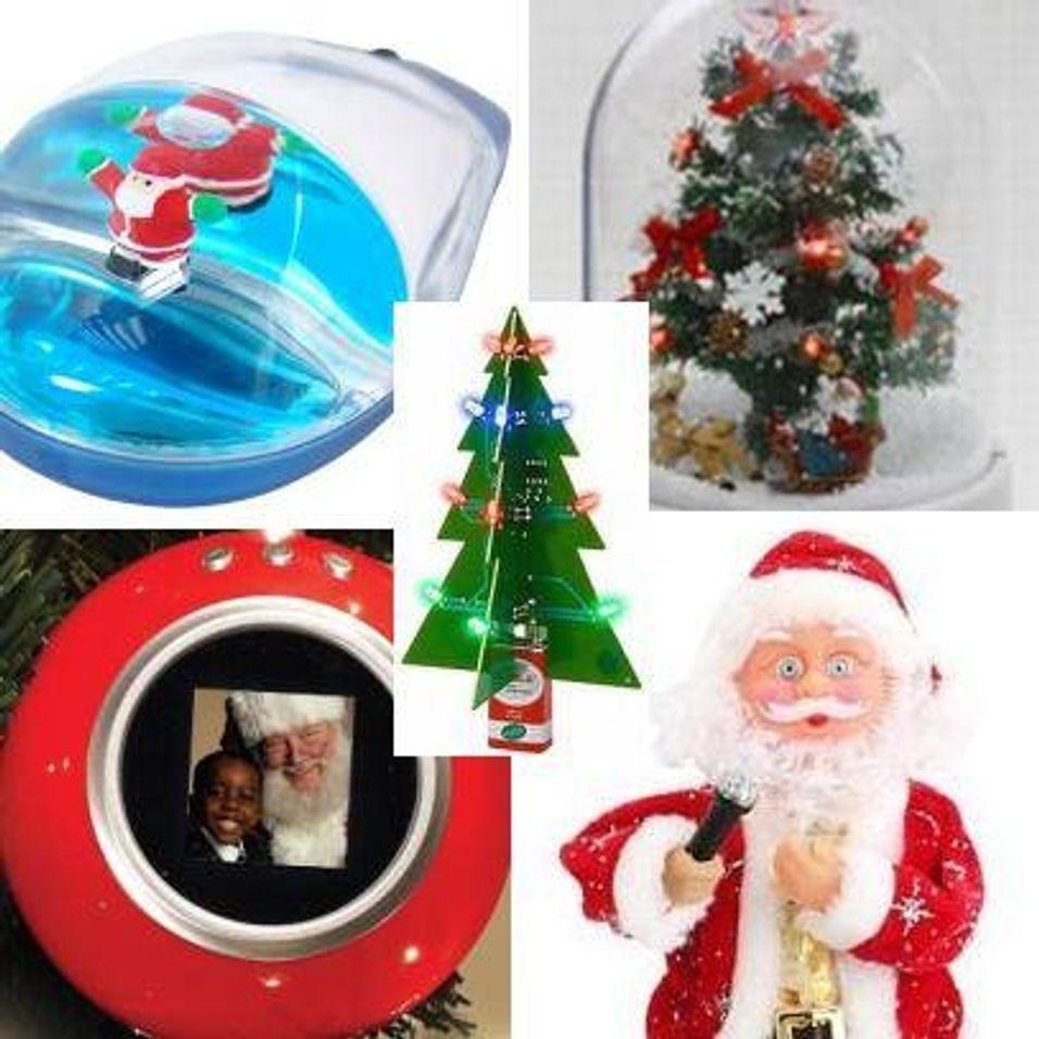 Dingsene som ringer julen inn