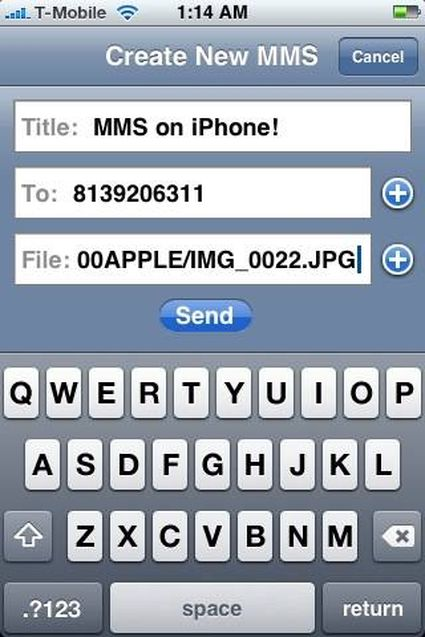 Endelig MMS på iPhone