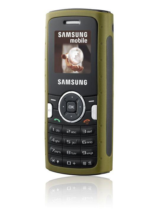 Samsung lanserer robust mobil