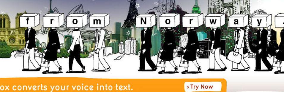 Få talebeskjeder som SMS