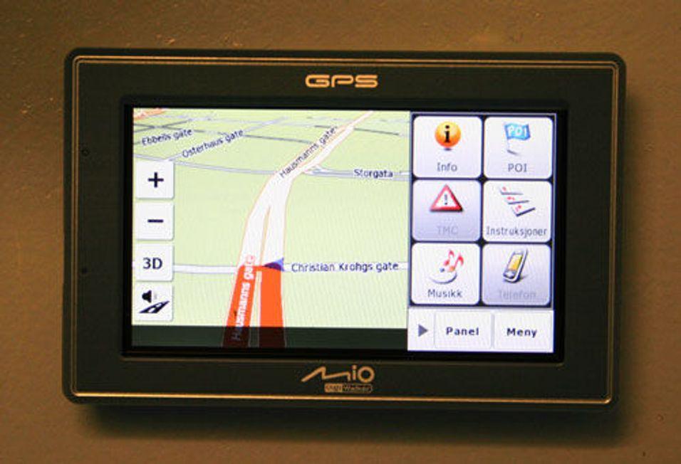 Mio lover raskere GPS