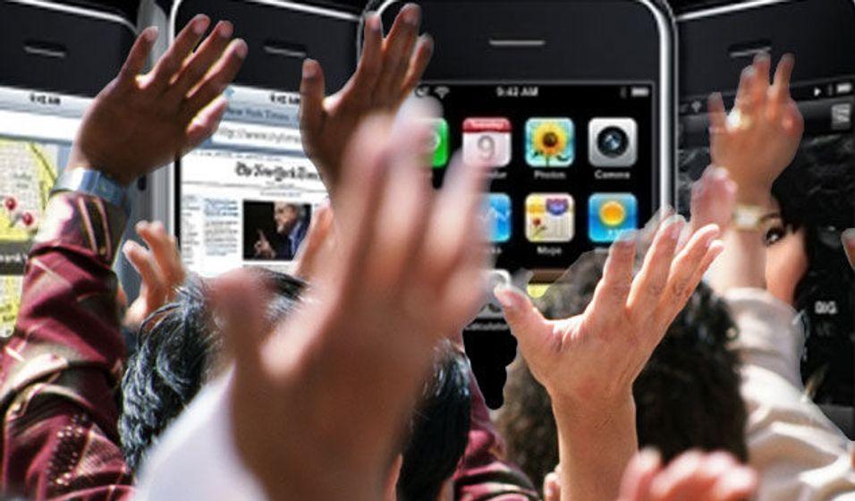 Pornobransjen omfavner iPhone