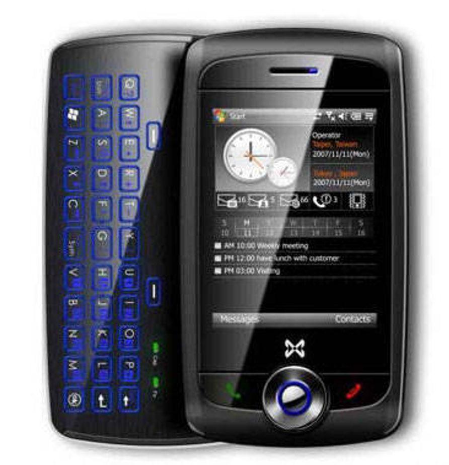 Ny lekker Windows-mobil med tastatur