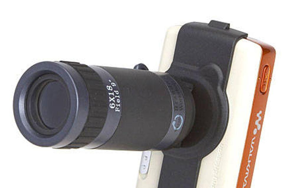 Vil du ta spionbilder med mobilen?