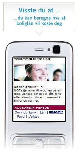 DNB Nor vinner mobilpris