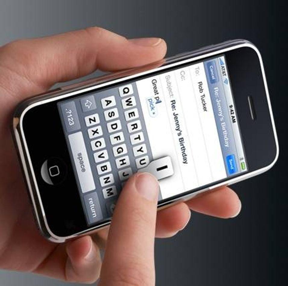 Savnet funksjon langt unna iPhone