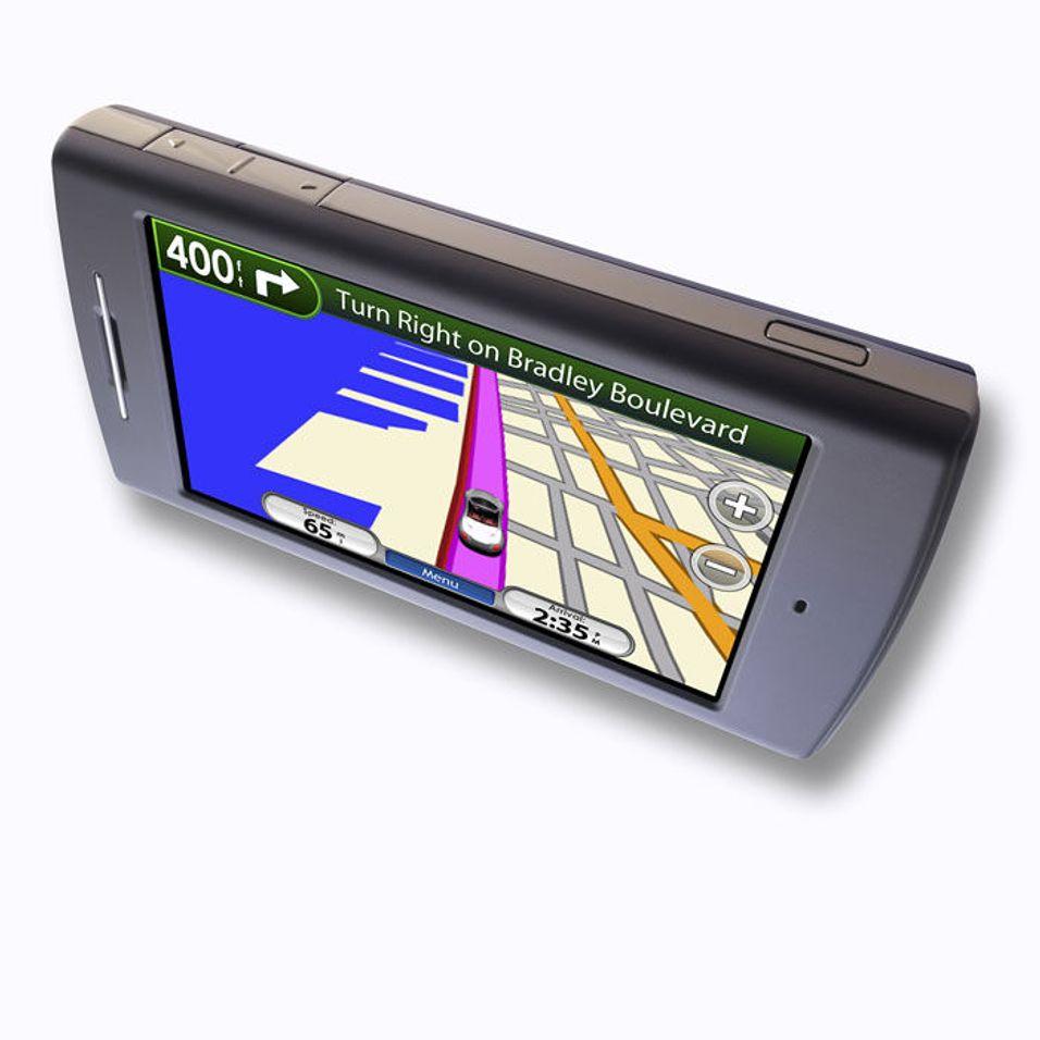 Se bilder av Garmin-mobilen