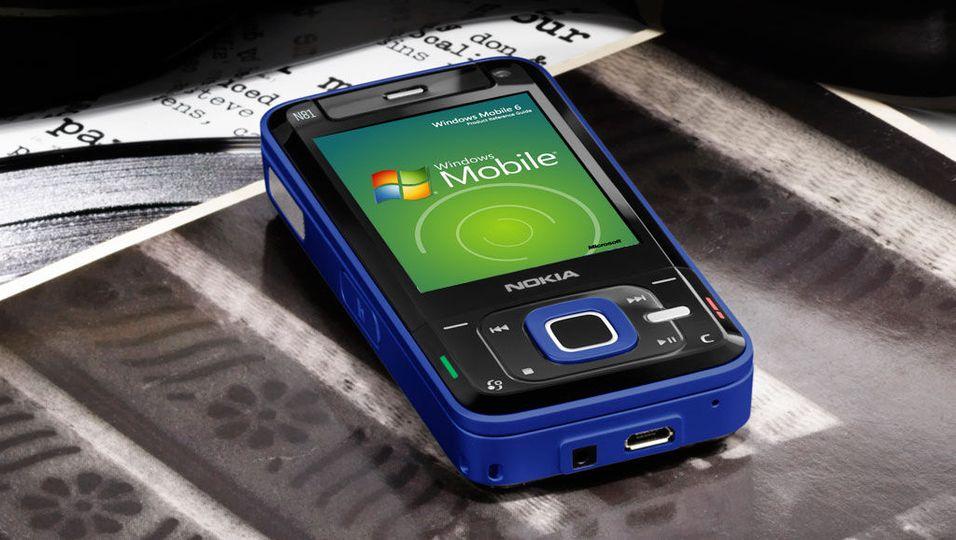 Nokia-mobiler kan få Windows Mobile