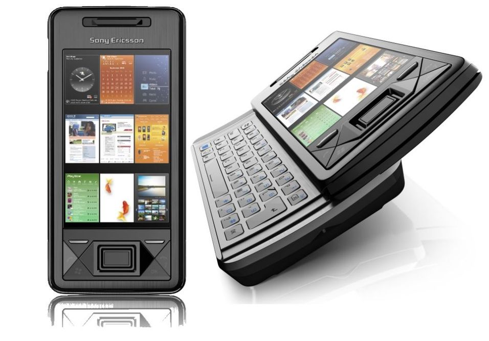 Se video av Sony Ericsson X1