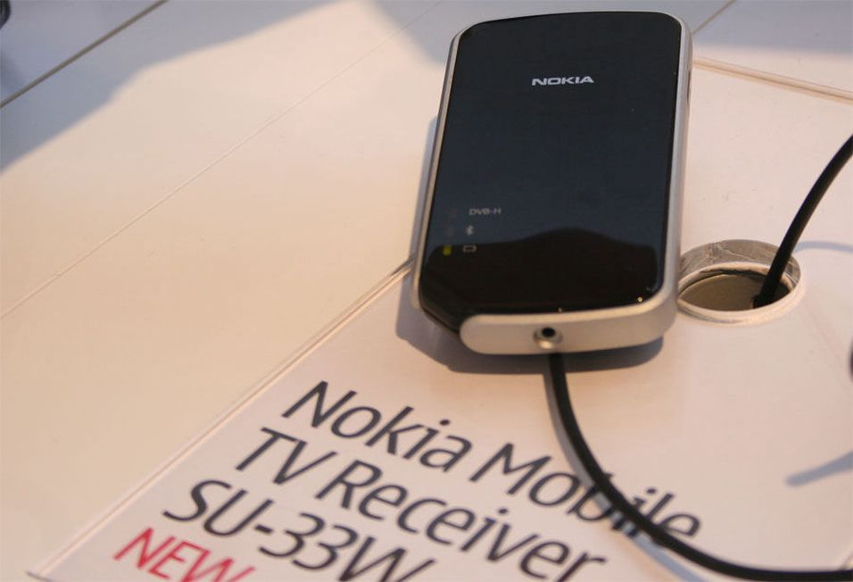 Nokia med digital-TV over Bluetooth