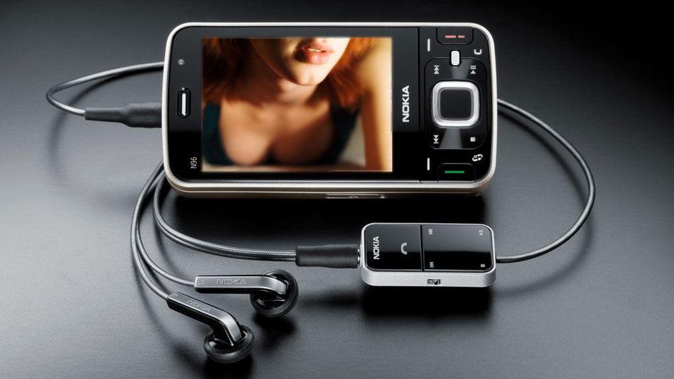 Mye sexprat på mobilen