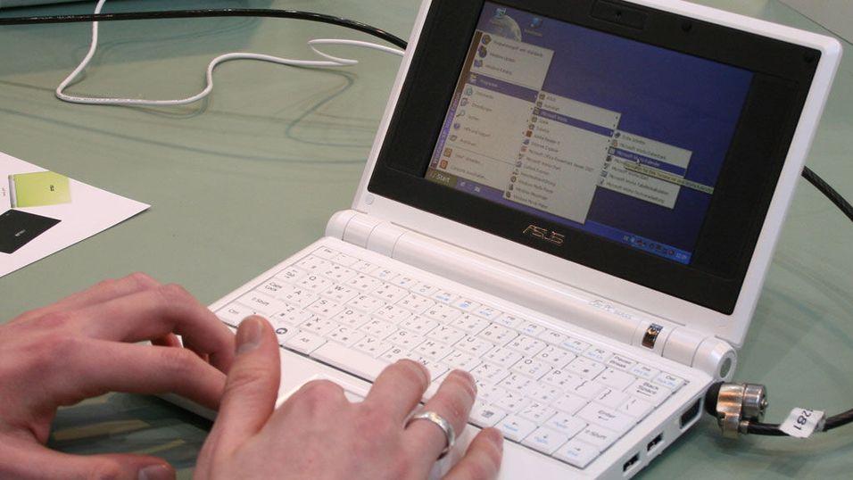 Vi prøver Asus Eee-PC med Windows