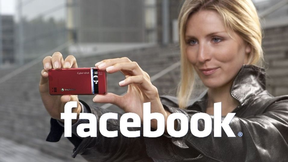 Send MMS rett til Facebook