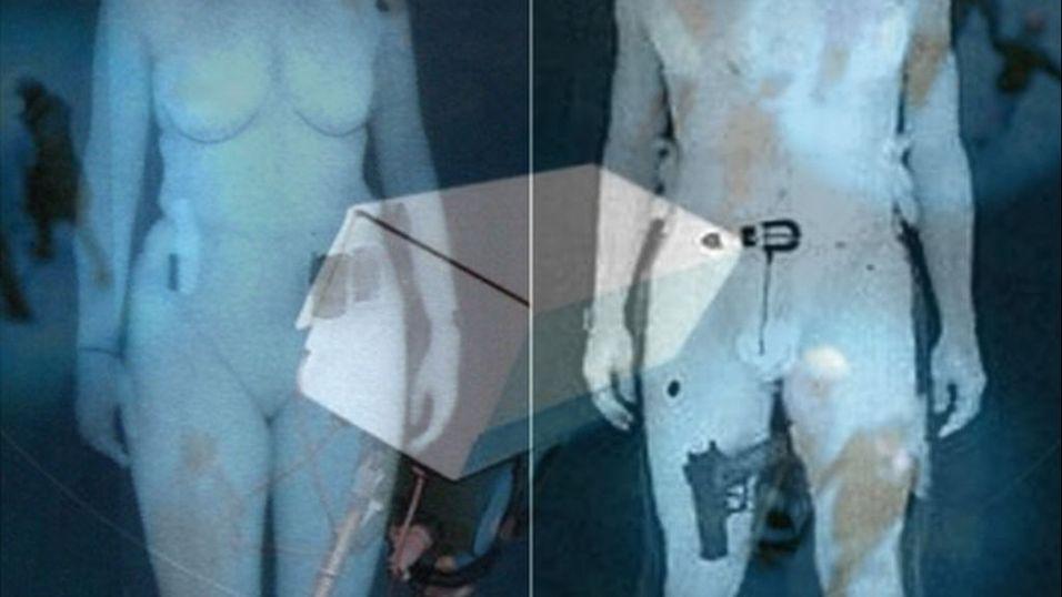 Kameraet som ser gjennom klærne