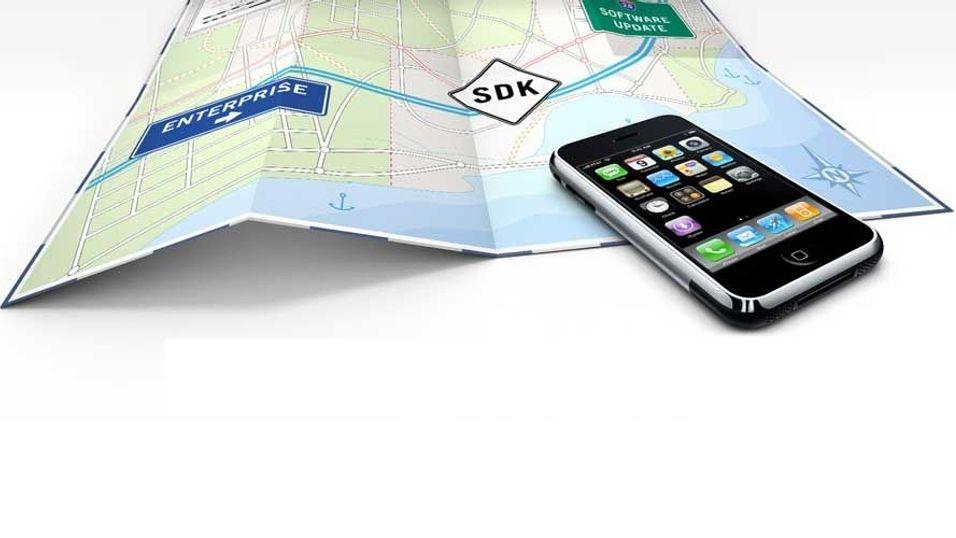 Mange begrensninger i Iphone SDK