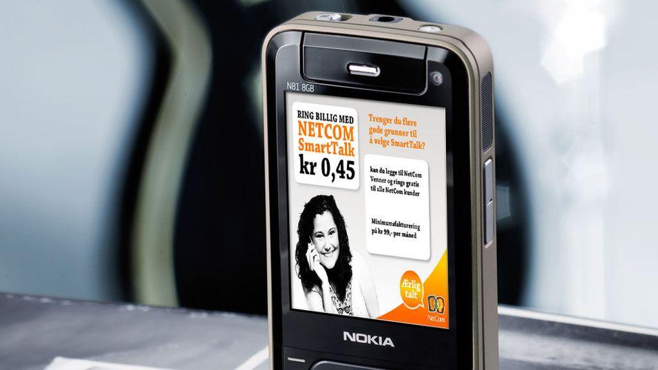 Telenor satser på mobilreklame