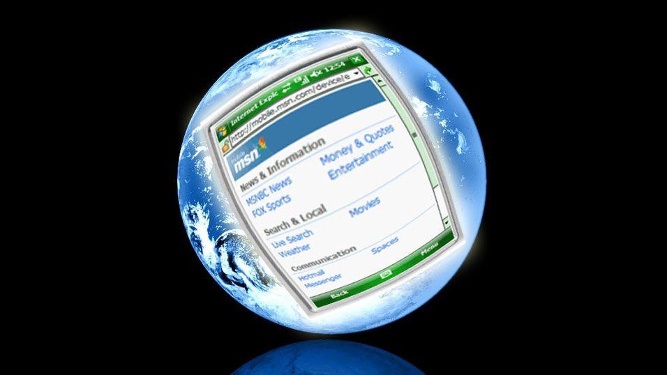 Microsoft viser ny mobil-nettleser
