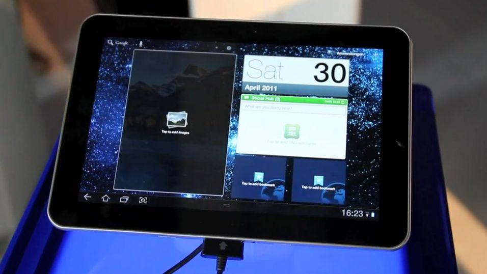 Se video av Galaxy Tab 8.9