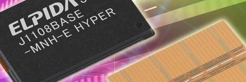 – Dette er verdens minste DDR3 SDRAM-brikker på 2 Gbit