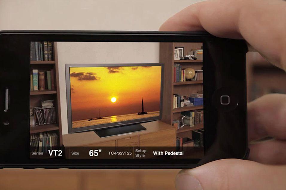 Finn riktig TV med iPhone