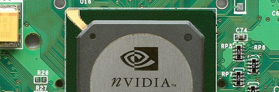 Nvidia taper markedsandeler så det synger