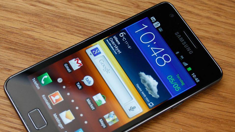 Samsung til topps på salgslistene