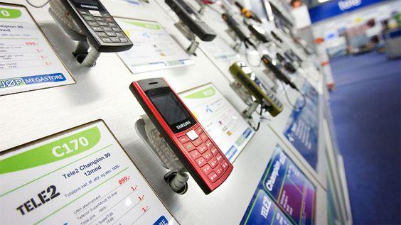 Mobiltelefoner med binding kan kjøpes via operatøren, en nettbutikk eller et mobilutsalg.