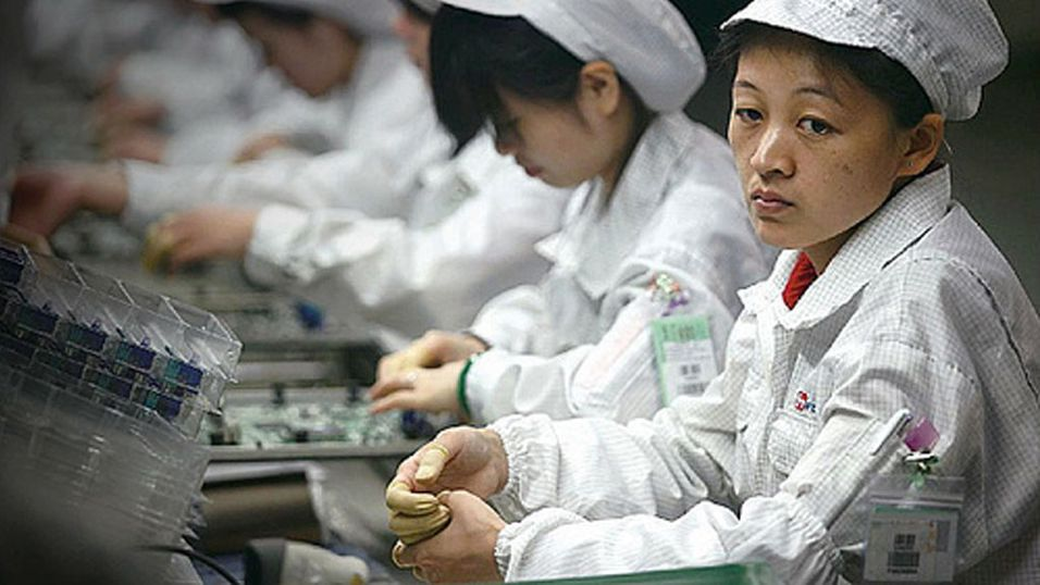 2000 i masseslagsmål på iPhone-fabrikk