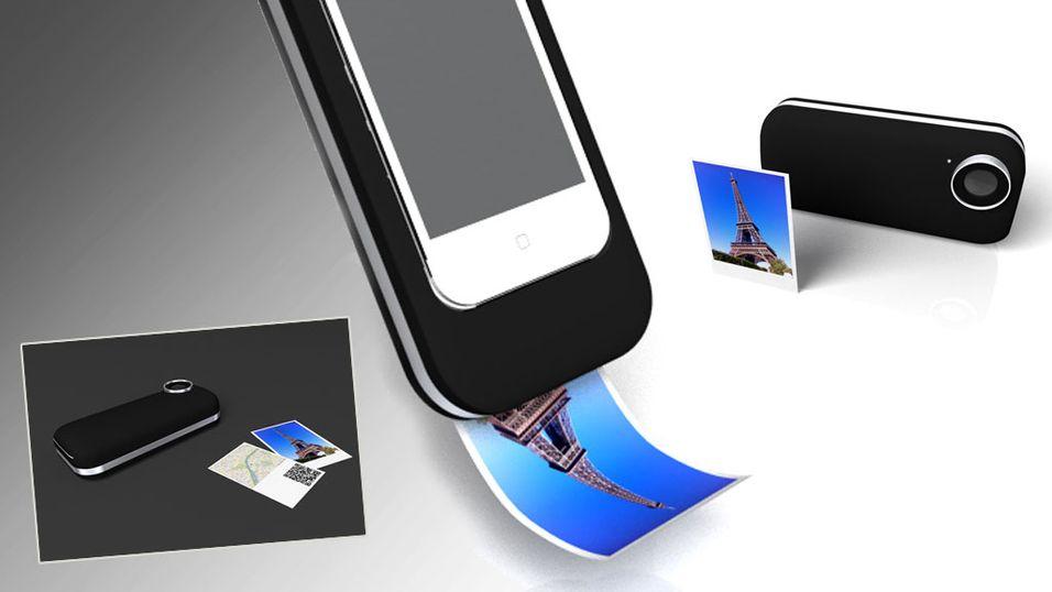 Gjør iPhone til et polaroidkamera